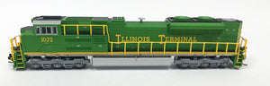 N Refurbished SD70ACe - NS #1072 Illinois Terminal