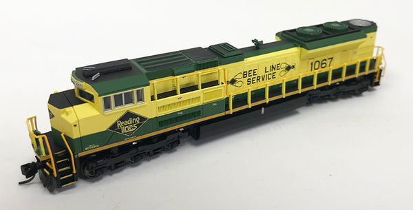 N Refurbished SD70ACe - NS #1067 Reading