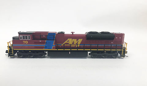 N SD70ACe - Arkansas & Missouri