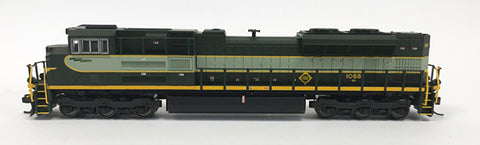 N Refurbished SD70ACe - NS #1068 Erie