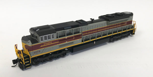 N Refurbished SD70ACe - NS #1074 Lackawanna