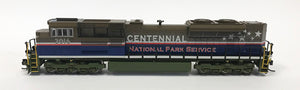 N SD70ACe Special Run - National Park Service