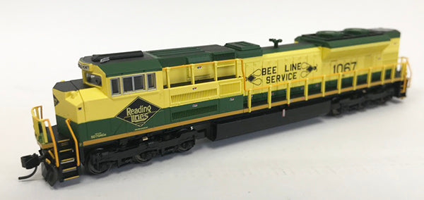N SD70ACe NS Heritage - Reading #1067