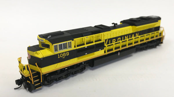 N Refurbished SD70ACe - NS #1069 Virginian