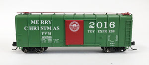 N 2016 Christmas Boxcar - Toy Express