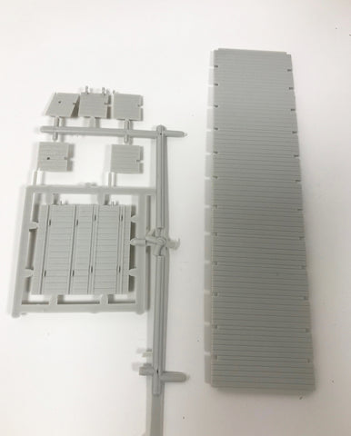 SHS Flat Car Deck Sprue