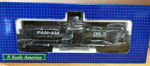 SSA14093 10K Tank Car - Pan Am #10818