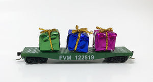 N 2019 Christmas Flat Car (Version B)