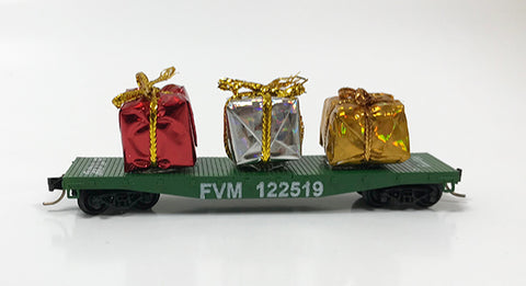 N 2019 Christmas Flat Car (Version A)
