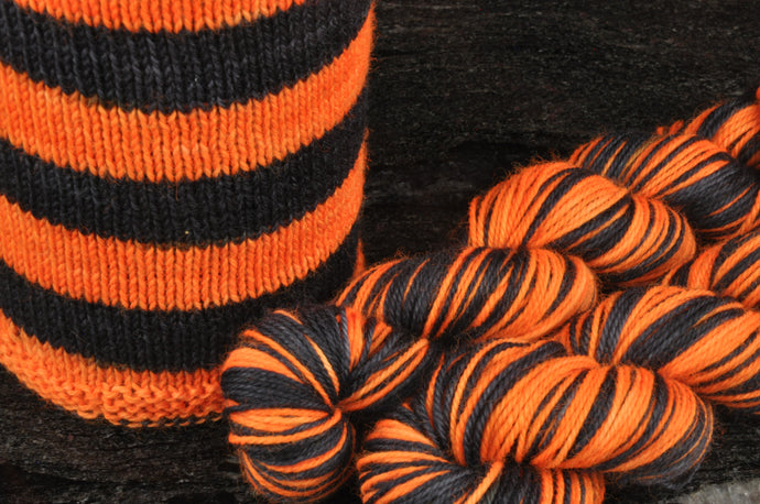 Wicked Stockings - Orange - New Design