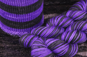 Wicked Stockings - Purple - New Design