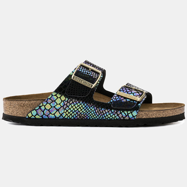 Birkenstock ARIZONA Shiny Snake Black Multi