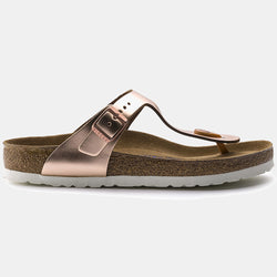 Birkenstock GIZEH Metallic Copper with Soft Footbed