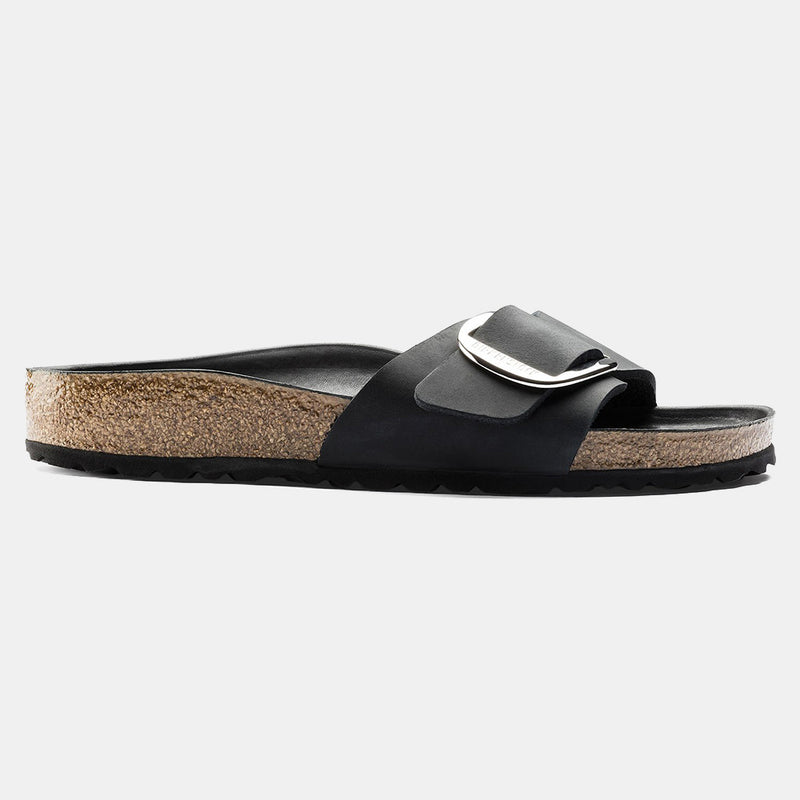 Birkenstock MADRID Black with Big Buckle