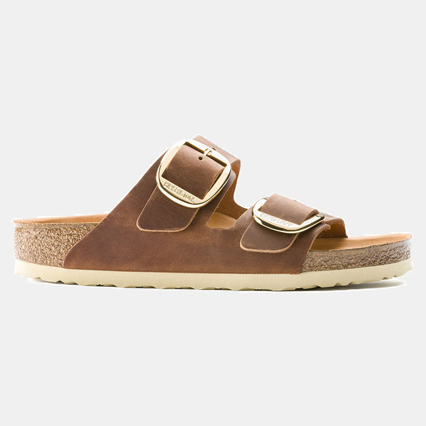 Birkenstock ARIZONA Cognac with Big Buckle WOMEN