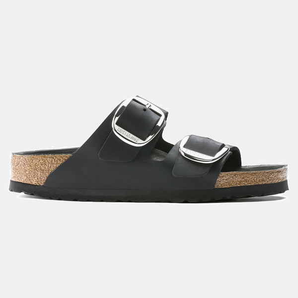 Birkenstock ARIZONA Black with Big Buckle WOMEN