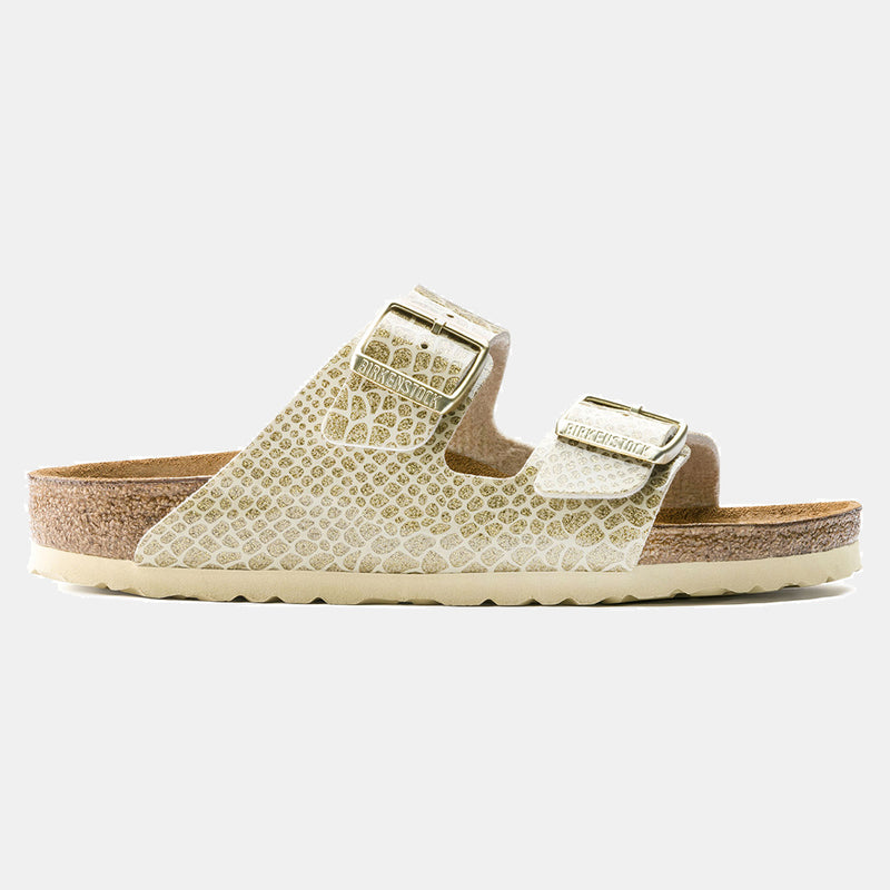 Birkenstock ARIZONA Magic Snake Gold