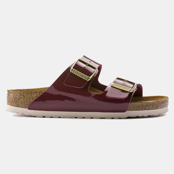 Birkenstock ARIZONA Patent Bordeaux