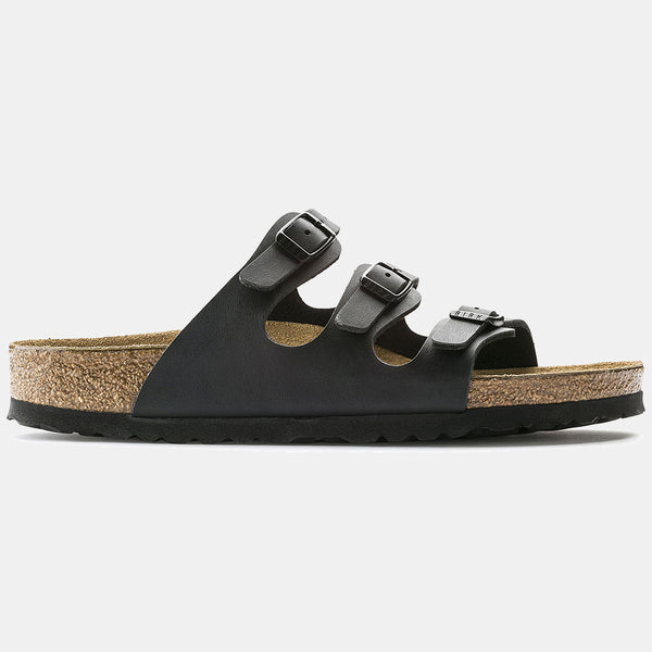 Birkenstock FLORIDA Black with Soft Footbed