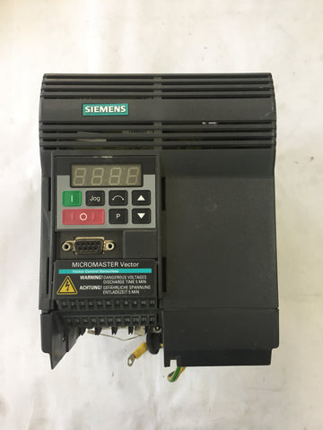 Siemens Micromaster Frequency Converter Vector