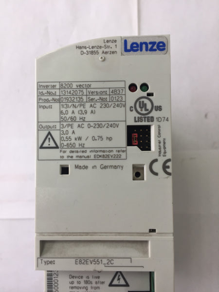 Lenze E82EV551_2C Inverter