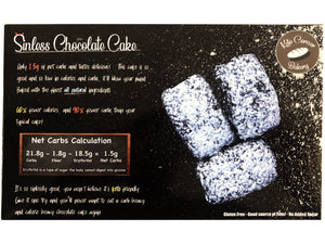 (4 Pack Discount) Sinless Chocolate Cake Pack