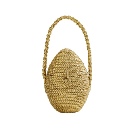 Chacha Egg with Satin Rope