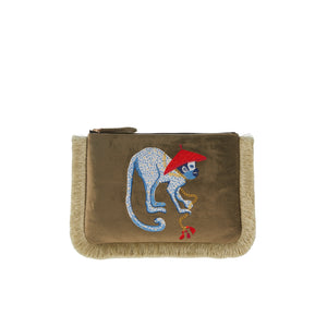 MUTOPIA MONKEY ARTIST COLLAB WITH PAIGE GEMMEL *VEGAN FRIENDLY BAG
