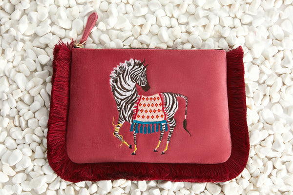 MUTOPIA ZEBRA ARTIST COLLAB WITH PAIGE GEMMEL *VEGAN FRIENDLY BAG