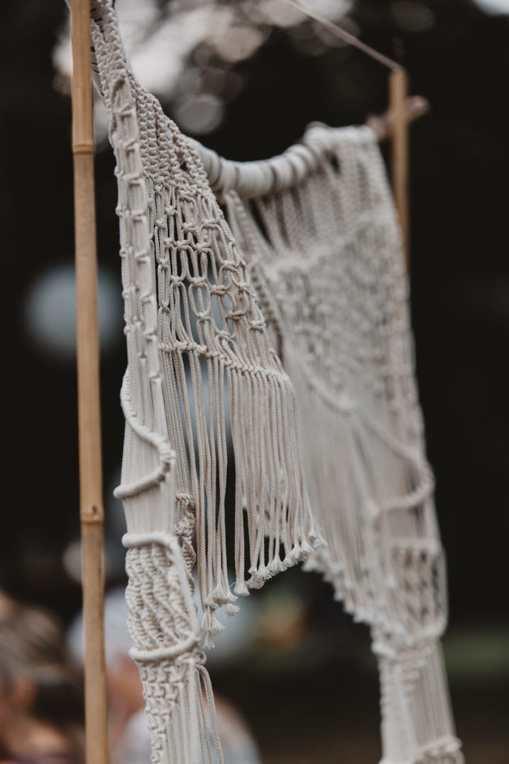 Macramé Altar| Wedding Backdrop| Door Frame