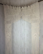 Load image into Gallery viewer, Macramé Altar| Wedding Backdrop| Door Frame