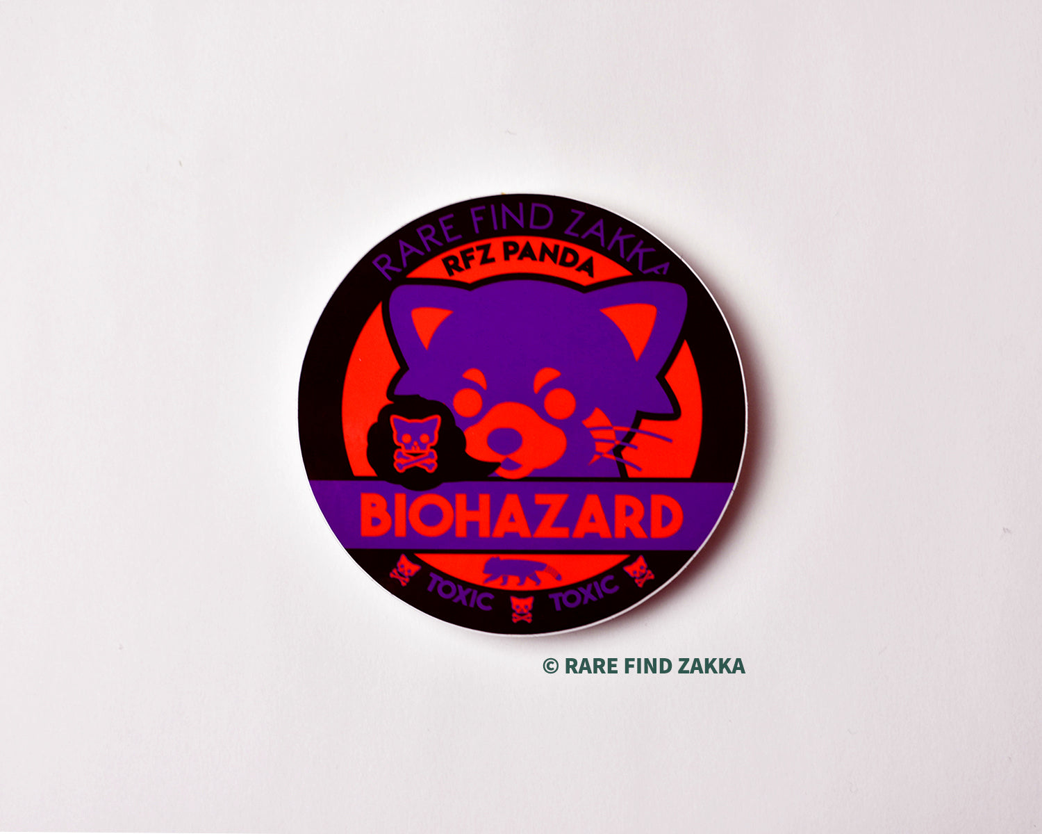 "RFZ ORIGINALS Sticker Collection ""BIOHAZARD"""