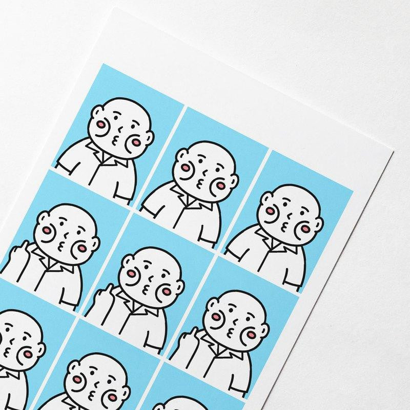 Cheeky cheeky Fxxk School Student Photo Postcards Set | RARE FIND ZAKKA