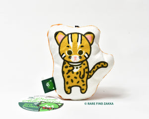 Leopard Cat Marshmallow Cushion Charm (S)