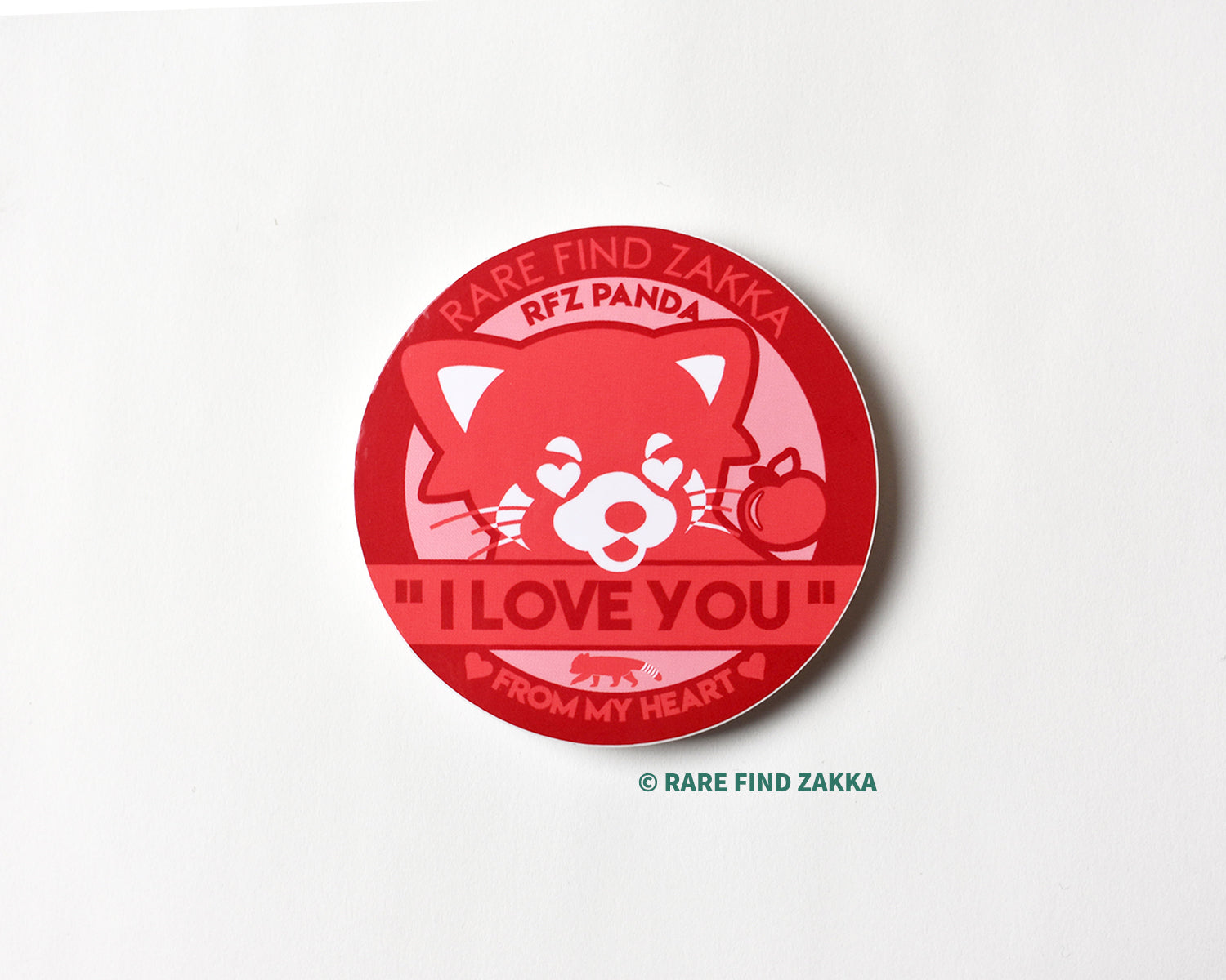 "RFZ ORIGINALS Sticker Collection ""I LOVE YOU"""
