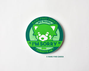 "RFZ ORIGINALS Sticker Collection ""I'M SORRY"""