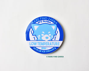 RFZ ORIGINALS 造型貼紙系列「LOW TEMPERATURE」