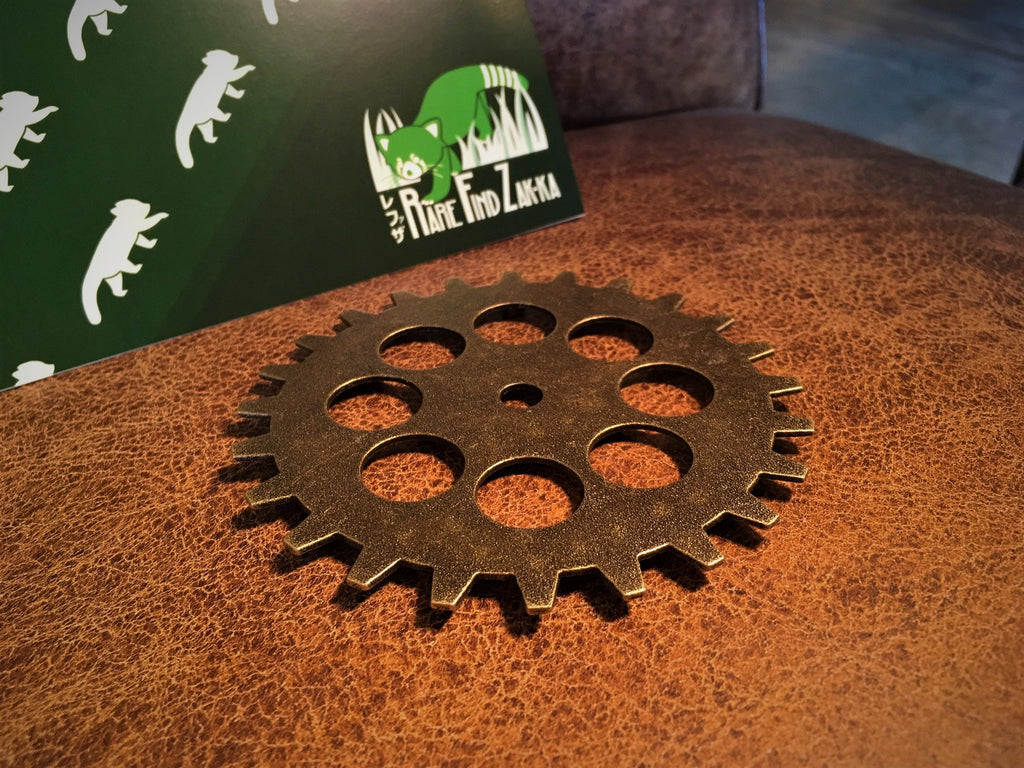 Mechanical Style Metallic Wheel Gear Coaster | RARE FIND ZAKKA