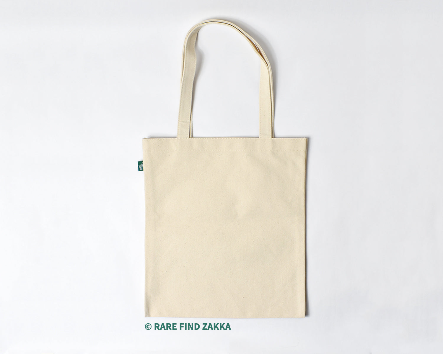 RFZ ORIGINALS Non-dyed Cotton Canvas Tote Bag