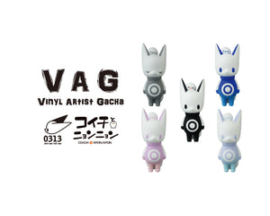VINYL ARTIST GACHA(VAG) Series18 Koichi and Nyon Nyon Mini Figures