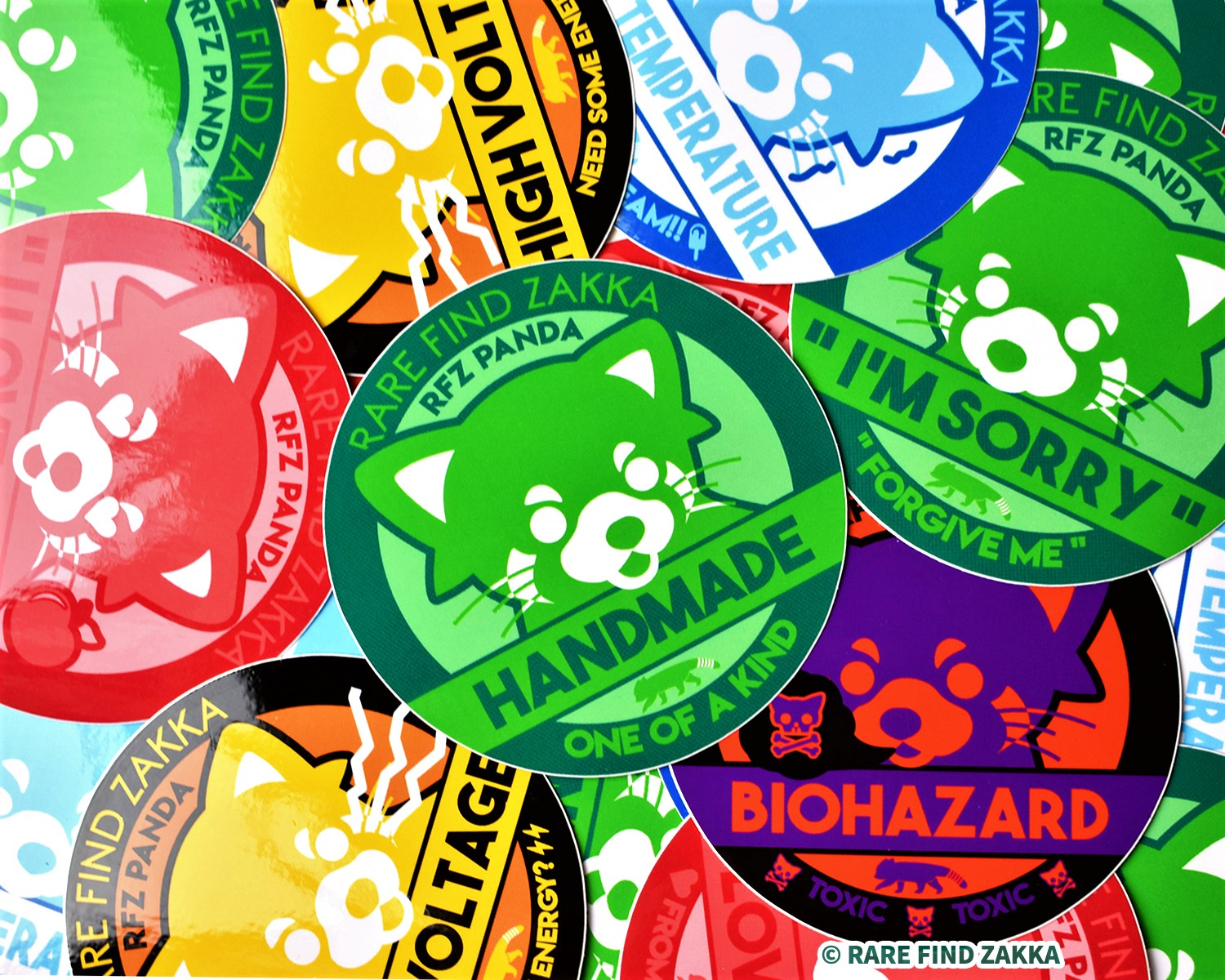 RFZ ORIGINALS Sticker Collection FULL COMPLETE Set