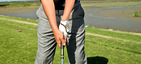 view of golf grip