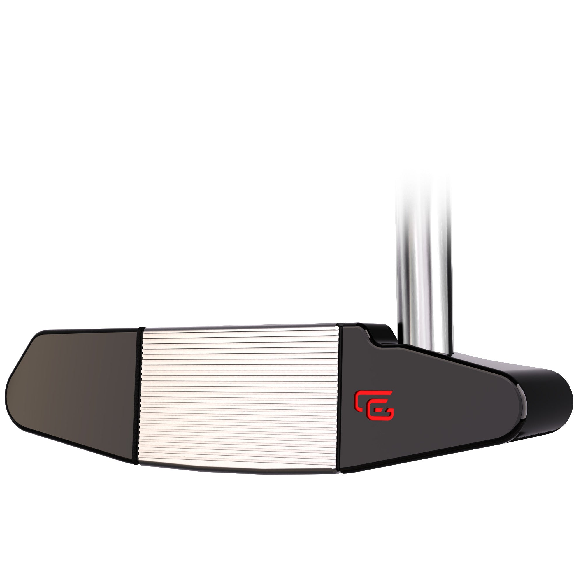 CĀG golf 33FIVE BD Putter, face view