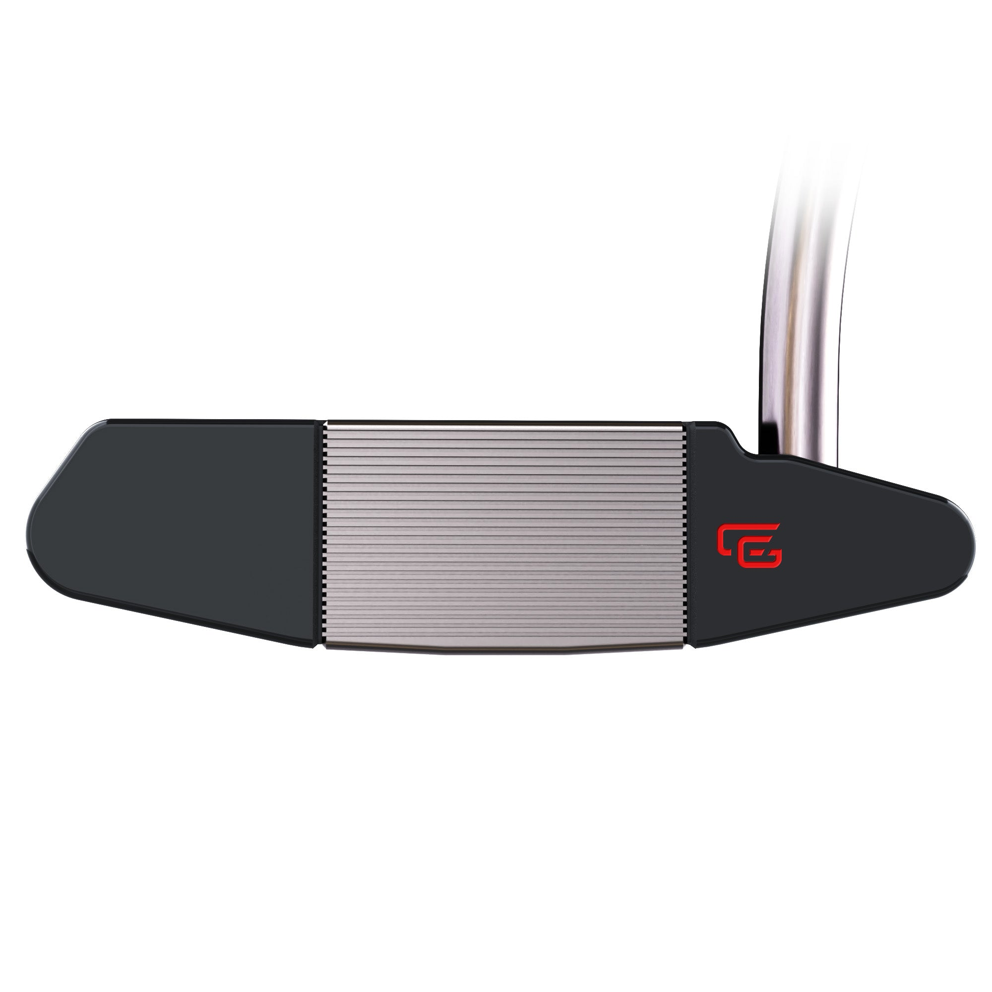CĀG golf 33FIVE BD Putter, milled face and scorelines