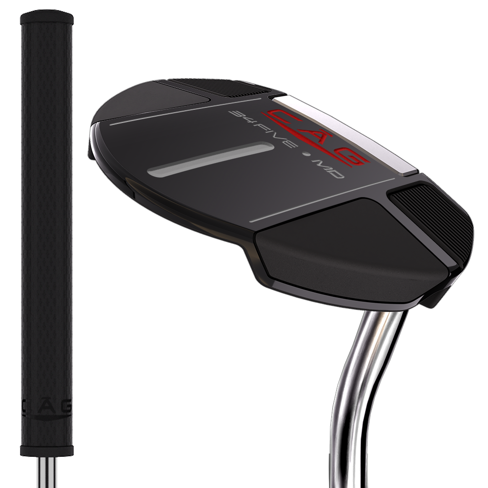 CĀG Golf Putter 34Five-MD Pro Build Mallet Putter