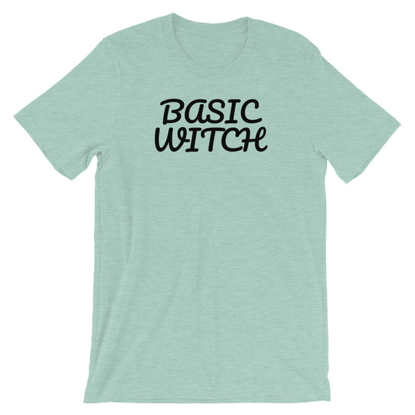 basic witch-black tee