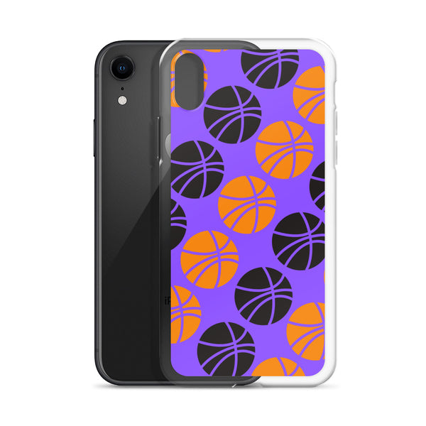 basketball case- purple