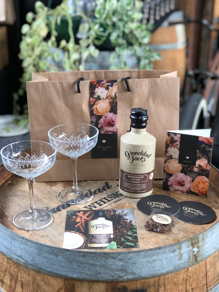 Coffee Liqueur Gift Pack & Glasses