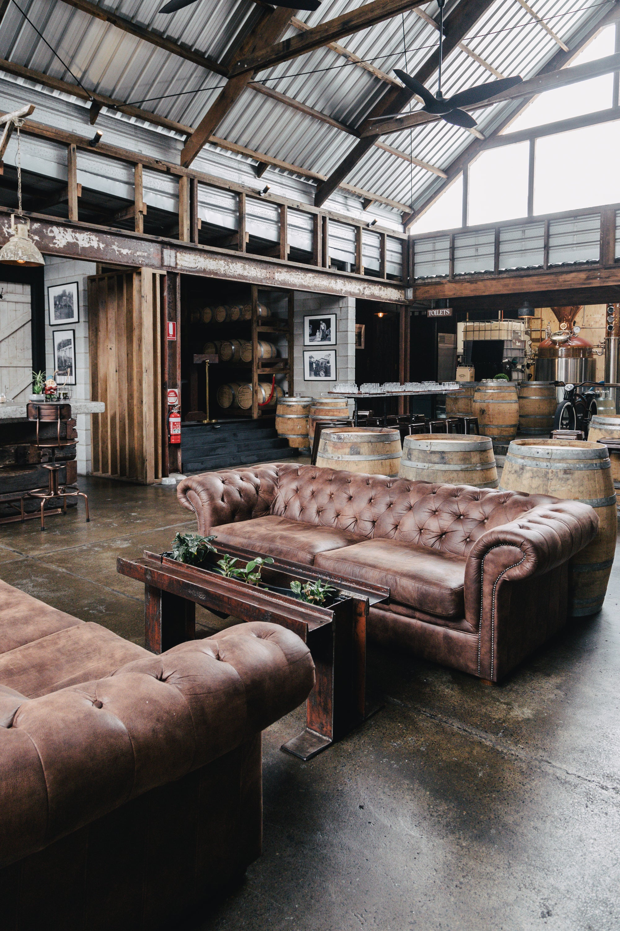 Tasting Room Couches