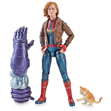 Load image into Gallery viewer, Captain Marvel Marvel Legends Series Captain Marvel in Bomber Jacket 6-Inch Action Figure